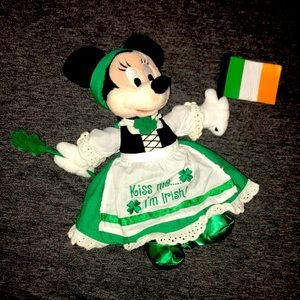 Irish Minnie Mouse Plush Doll